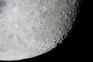 Tycho moon crater